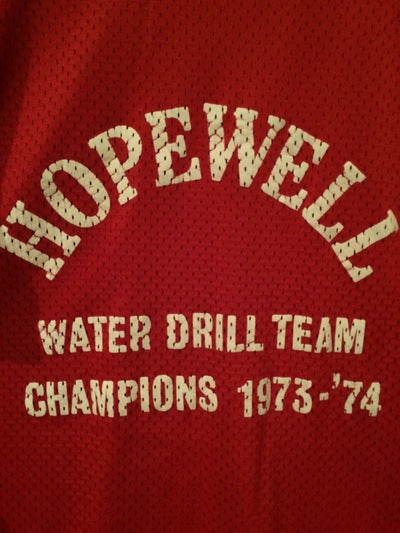 1974 Mesh Hopewell Water Drill Team Ringer Tee