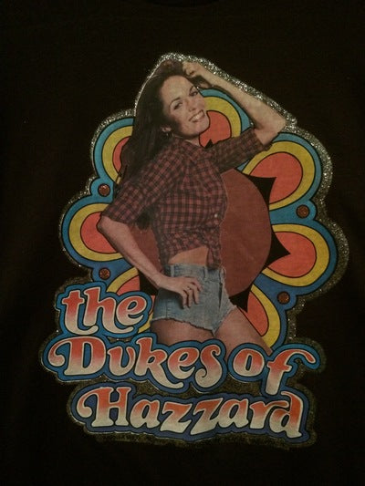 80's Daisy Duke Iron On Tee