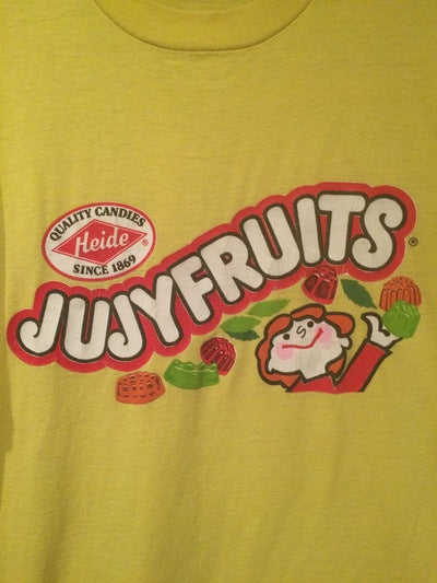 Jujyfruits Screen Stars Brand Tee