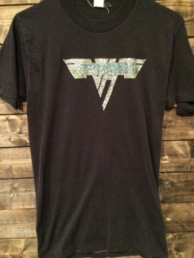 80's Van Halen Iron On Tee