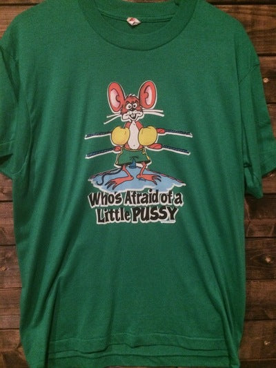 Funny Mouse Iron On Tee