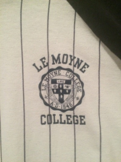 80's Lemoyne College Velva Sheen 3/4 Sleeve Tee