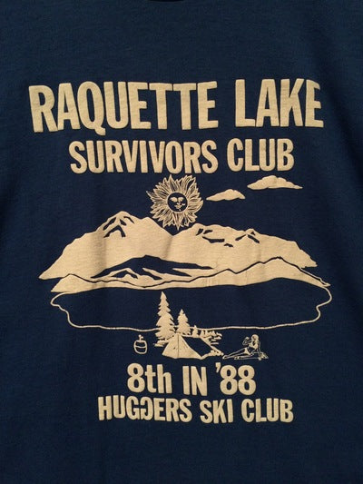 1988 Raquette Lake Ski Club Tee