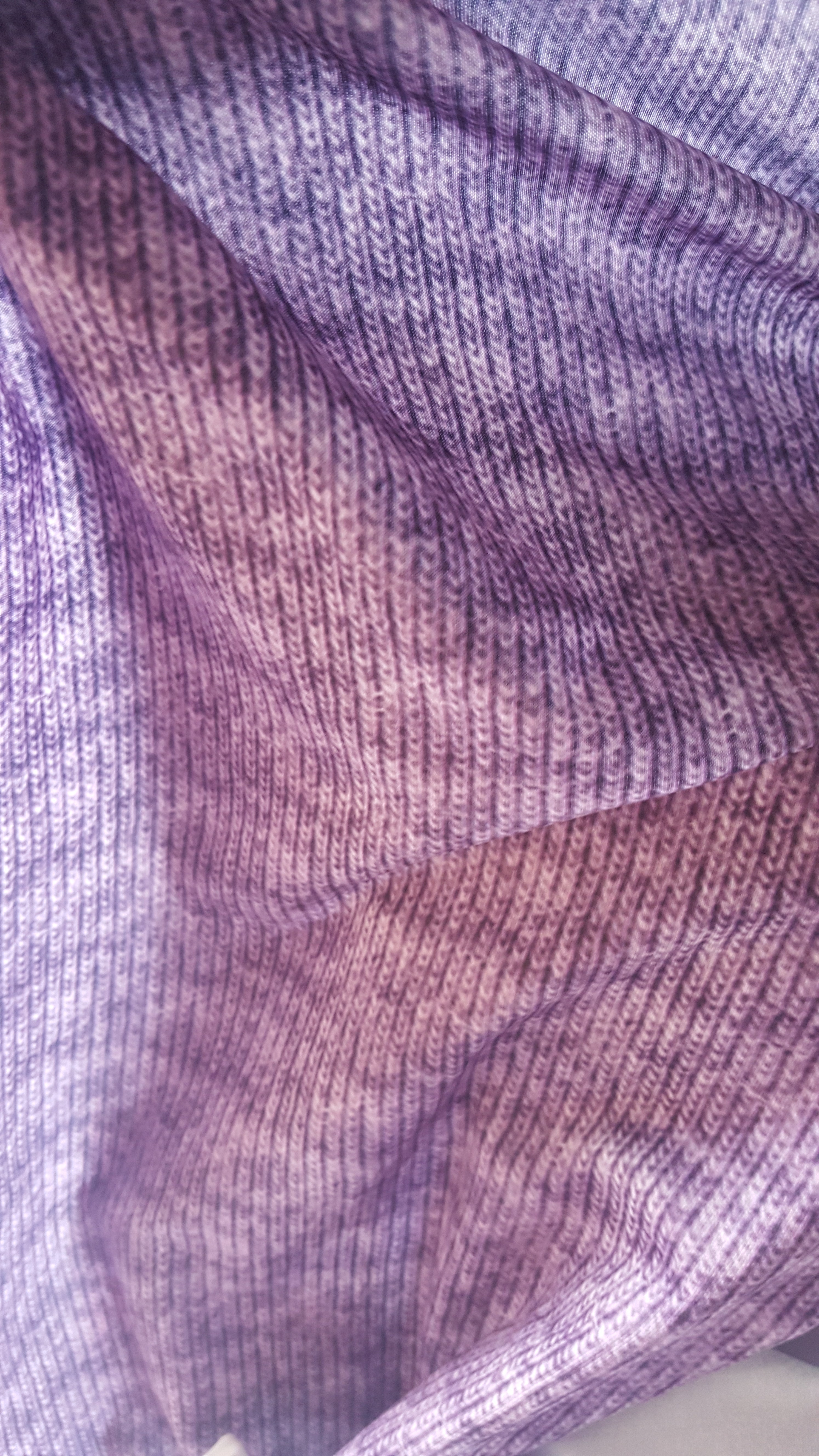 SewVHCO: Faux Sweater Knit Purple