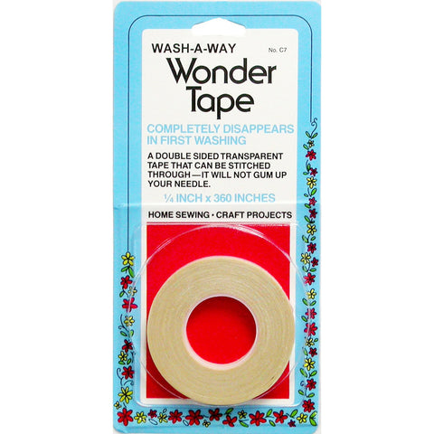 "Notions: Wonder Tape (1/4"" x 10 yards) - Vinegar and Honey Co - Fine Fabrics and Notions"