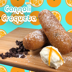 Internet broken: Cannoli croqueta