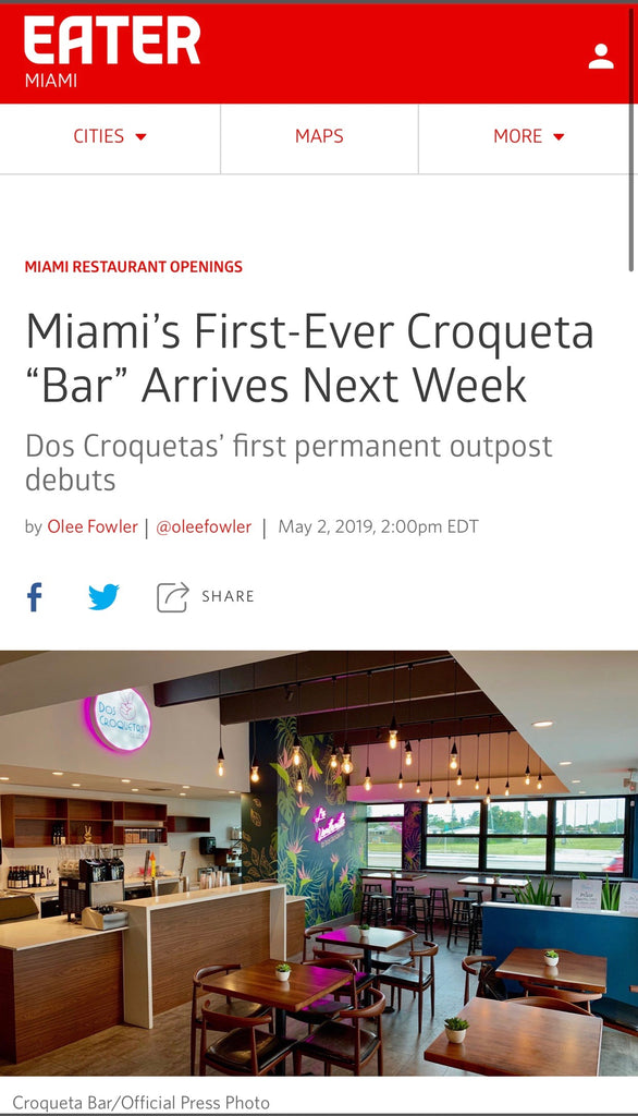 Miami's first Croqueta Bar