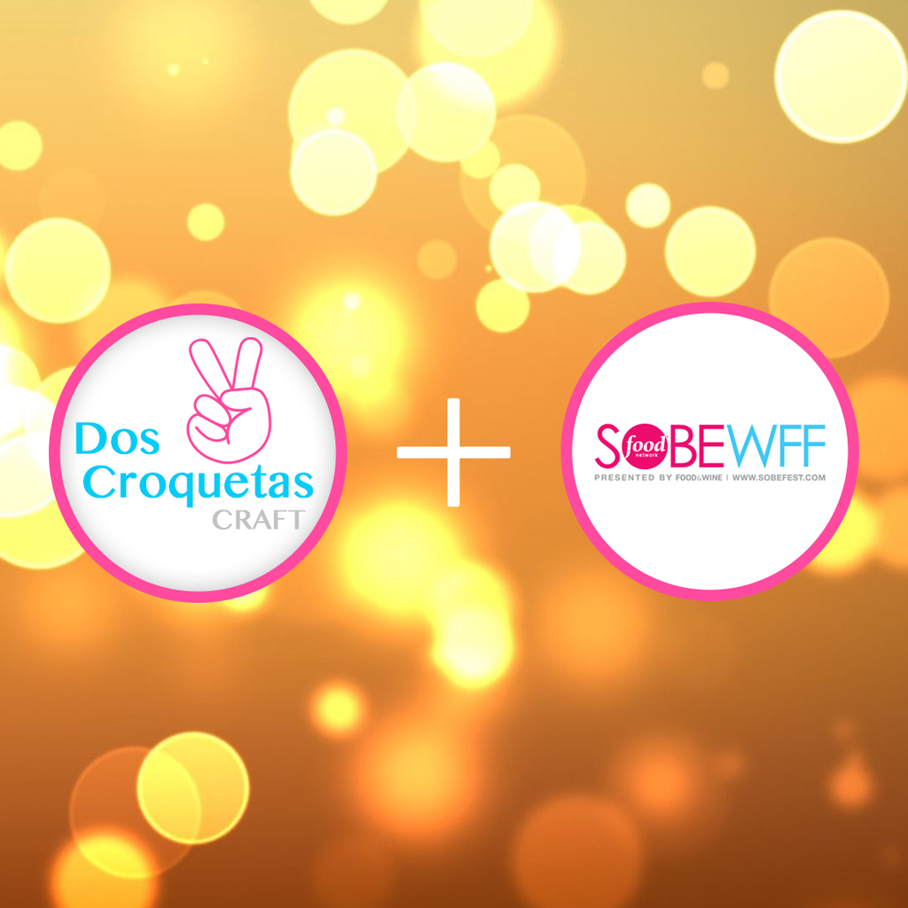 Dos Croquetas is going to #SOBEWFF Croquetas & Champagne in February 2017!