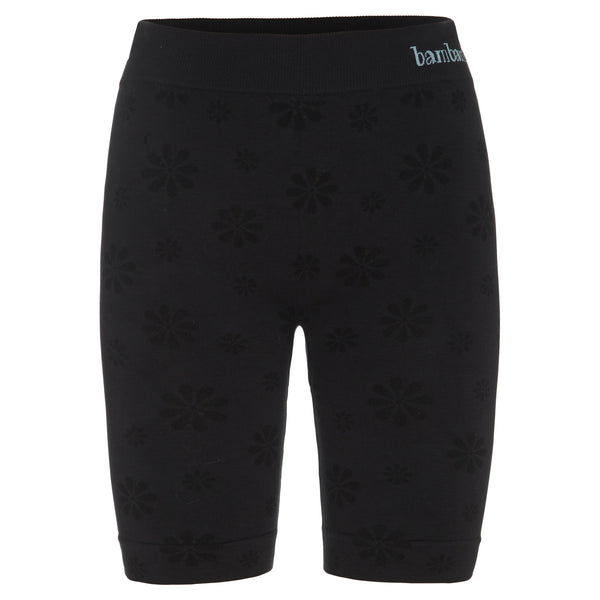 Baby bams - Onyx Black - Mid Length Leg Anti Chaffing Shorts