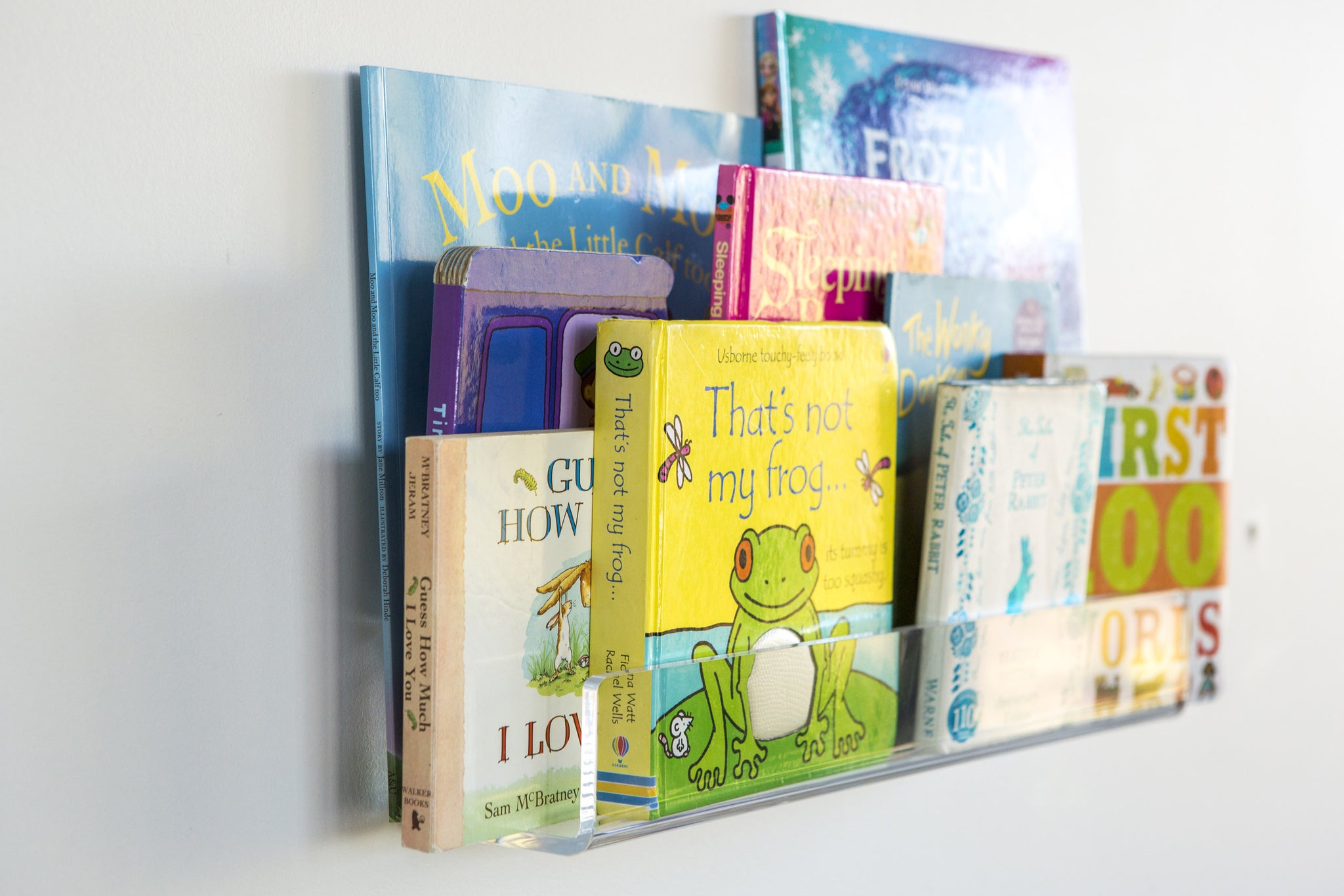 Children's Magical Floating Bookshelf - Clear Acrylic