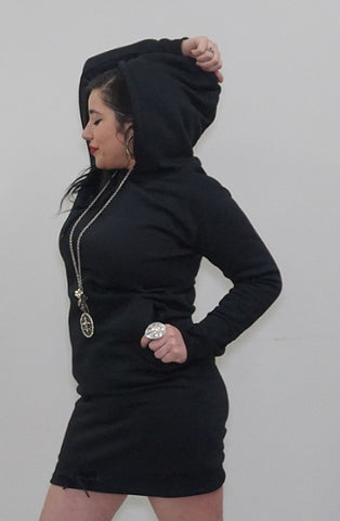 Interchangeable Hoodie Dress - BoujichickFashions