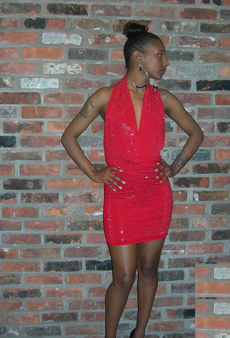 Stepping out for the evening, do it in style with this hot siren red dress