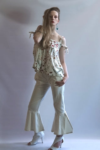FOUNTAIN STYLE FLARE LEG BOTTOM PANT - BoujichickFashions