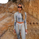 2 Piece Sporty Fitness Suit - BoujichickFashions