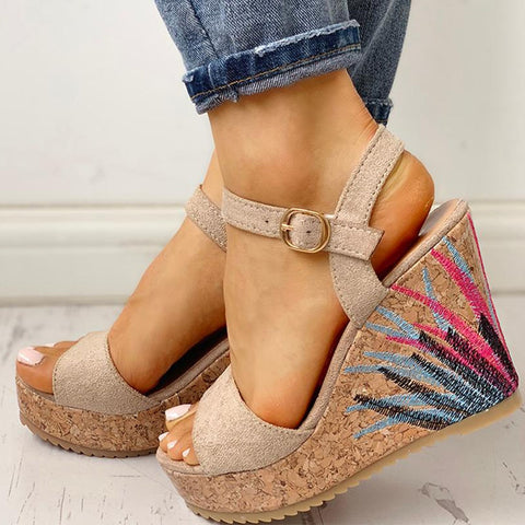 Fabulous Open Toe Wedges - BoujichickFashions
