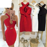 Halter Style Pencil Dress
