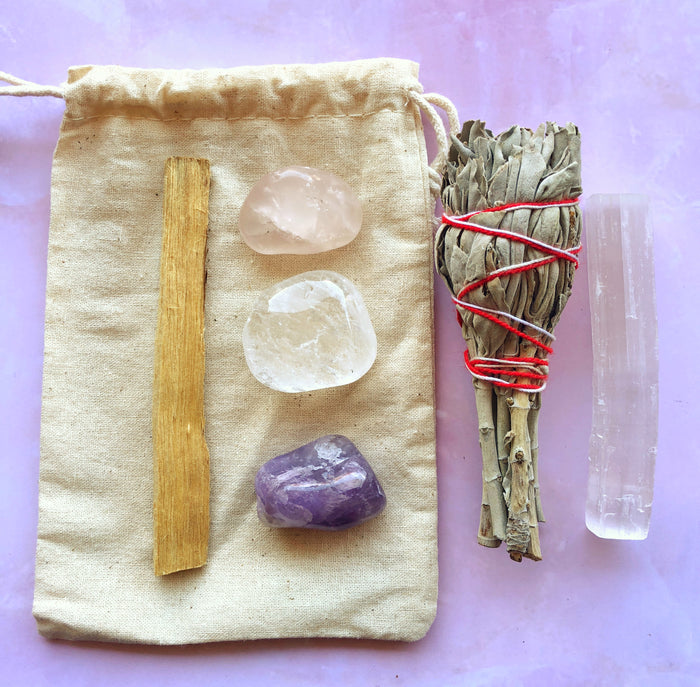 LITTLE PAPER LANE CRYSTALS-Crystal cleanse set