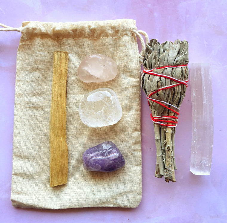 LITTLE PAPER LANE CRYSTALS-'Cleanse' Crystal set