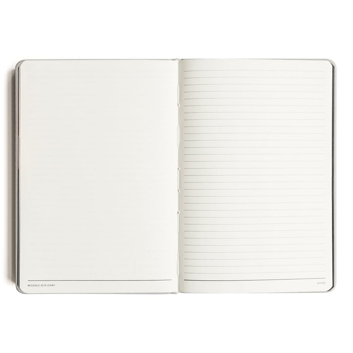 MI GOALS Get Shit Done Hard Cover 2018 Diary