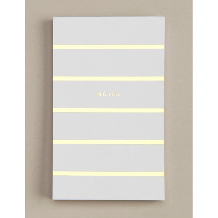 ELM PAPER-Notepad White/gold
