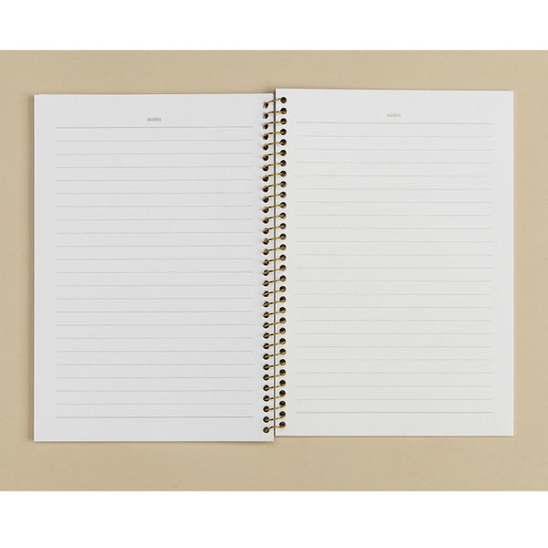 ELM PAPER-Wiro Notebook white/gold