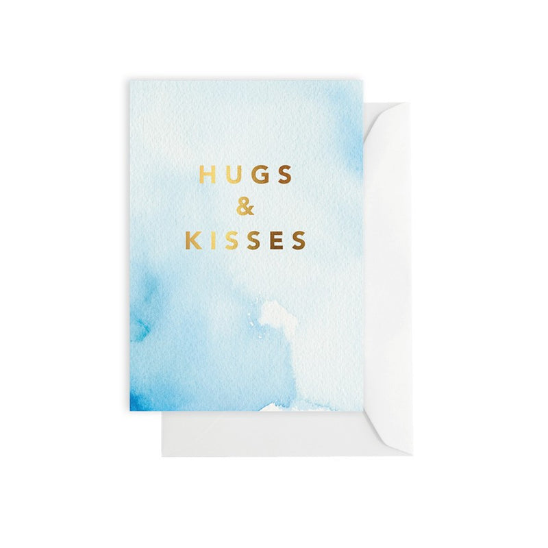 ELM PAPER-Hugs & kisses card
