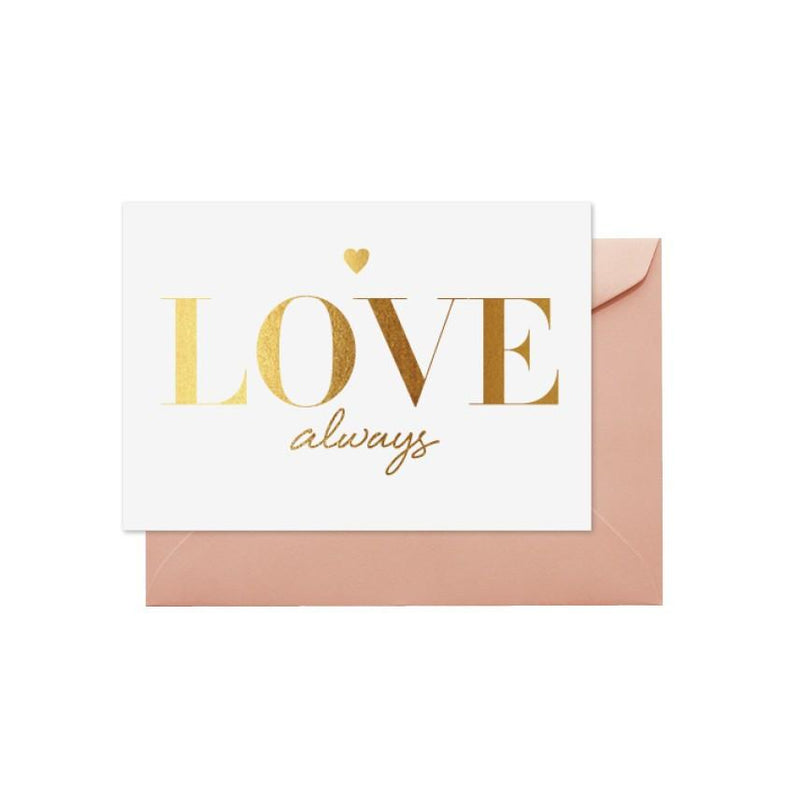 ELM PAPER-Love always card