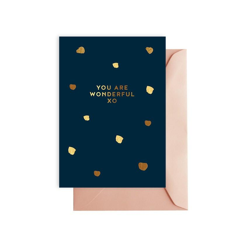 ELM PAPER-You are wonderful card