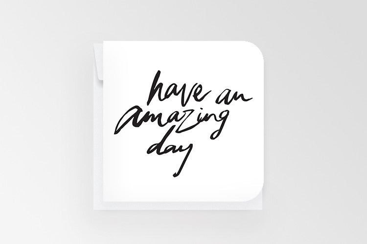Rachel Kennedy Designs Amazing Day Mini Greeting Card
