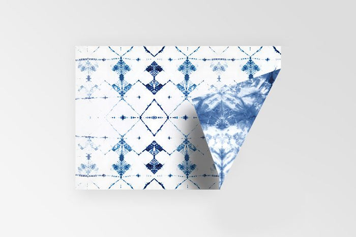 Rachel Kennedy Designs Shibori double sided 100% recycled gift wrap
