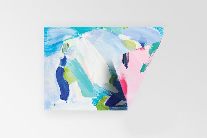 Rachel Kennedy Designs Abstract double sided 100% recycled gift wrap