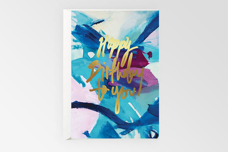 Rachel Kennedy Designs Greeting Card- Happy Birthday To You