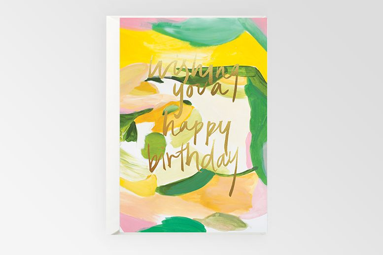 Rachel Kennedy Designs Wishing you a happy birthday card
