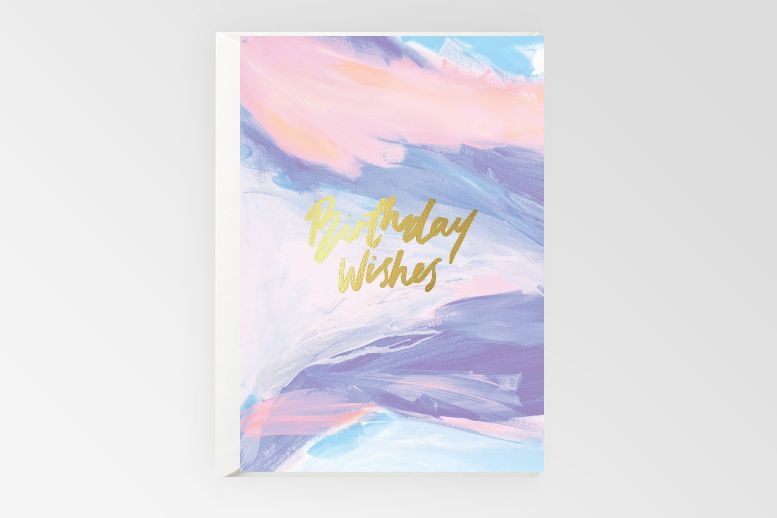 Rachel Kennedy Designs BIRTHDAY WISHES card