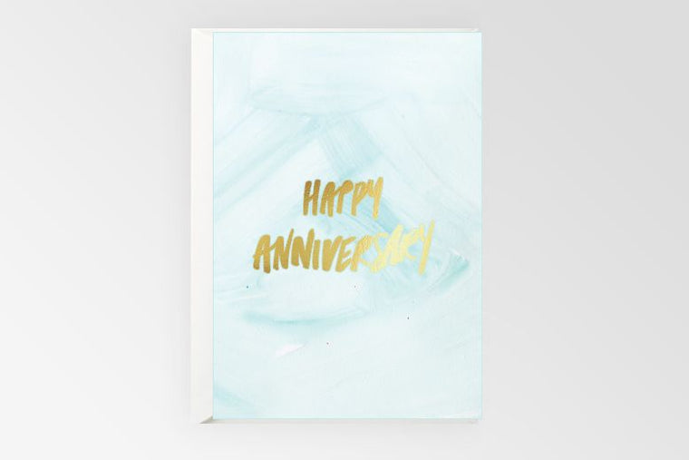 Rachel Kennedy Designs Greeting Card- Happy Anniversary