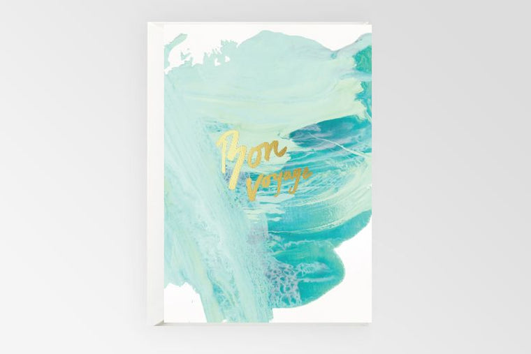 Rachel Kennedy Designs Greeting Card- Bon Voyage