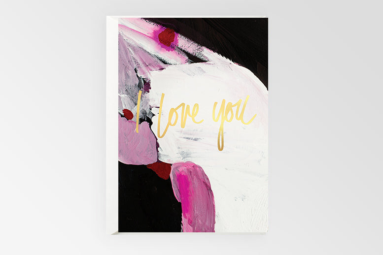 Rachel Kennedy Designs Greeting Card- I Love You