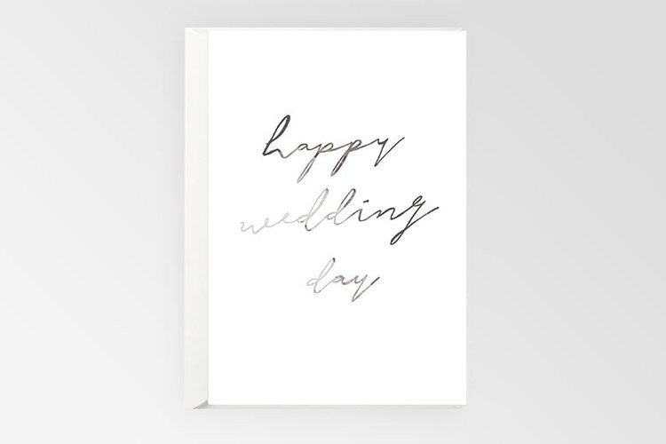 Rachel Kennedy DesignsWedding day card