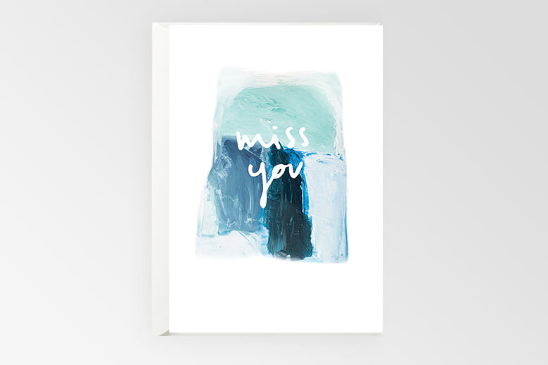 Rachel Kennedy Designs Greeting Card-Miss You
