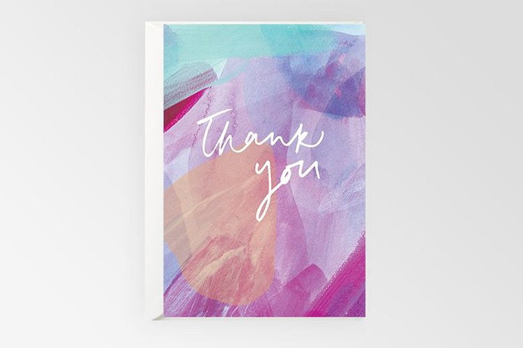 Rachel Kennedy Designs Greeting Card-Thank You