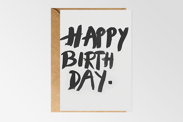 Rachel Kennedy Designs Happy Birthday #7 Greeting Card