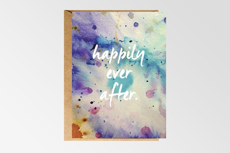 Rachel Kennedy Designs Happily Ever After Greeting Card