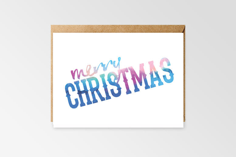 Rachel Kennedy Designs Merry Christmas Greeting Cards set of 6