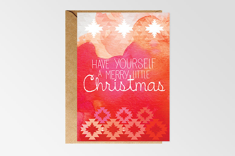 Rachel Kennedy Designs Merry Little Christmas Greeting Cards