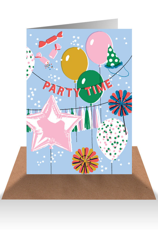 AHD Party time card
