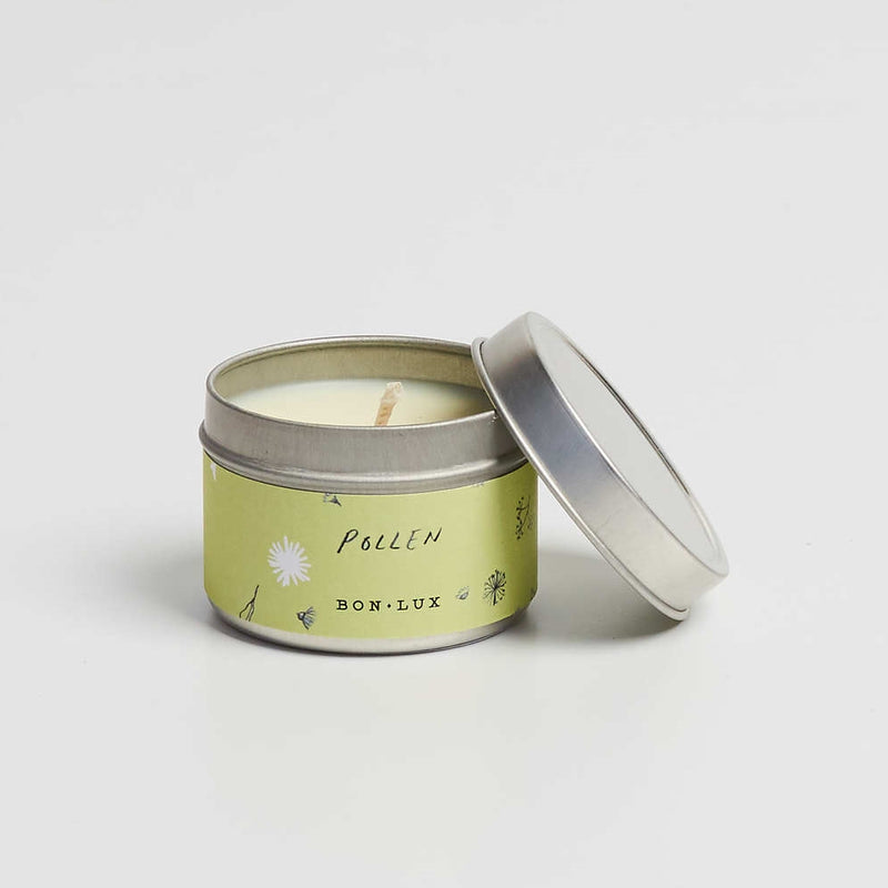 BON LUX-Pollen Travel tin candle