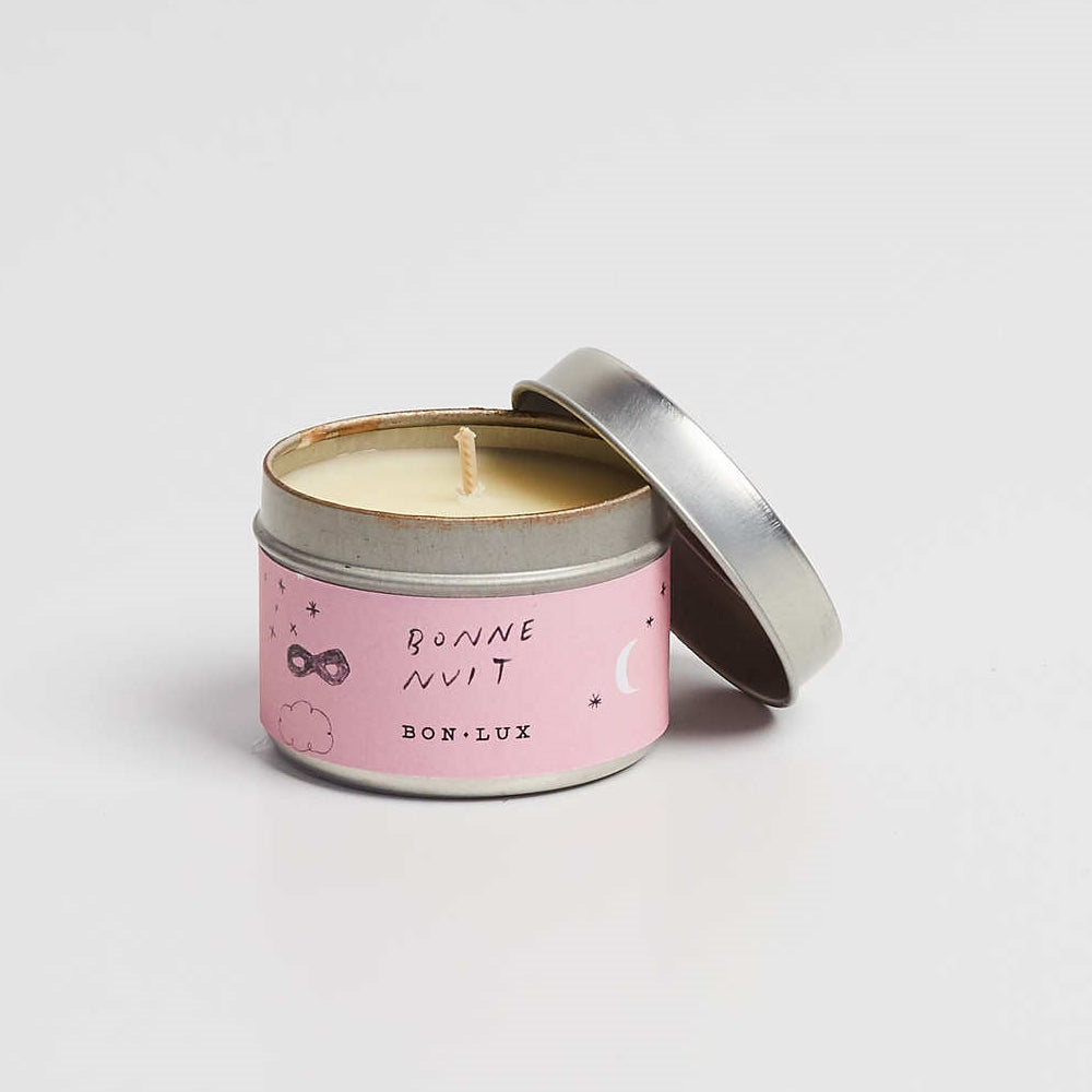 BON LUX-Bonne Nuit Travel tin candle