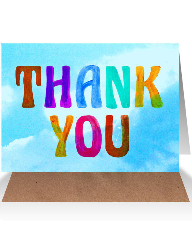 AHD Thank you card