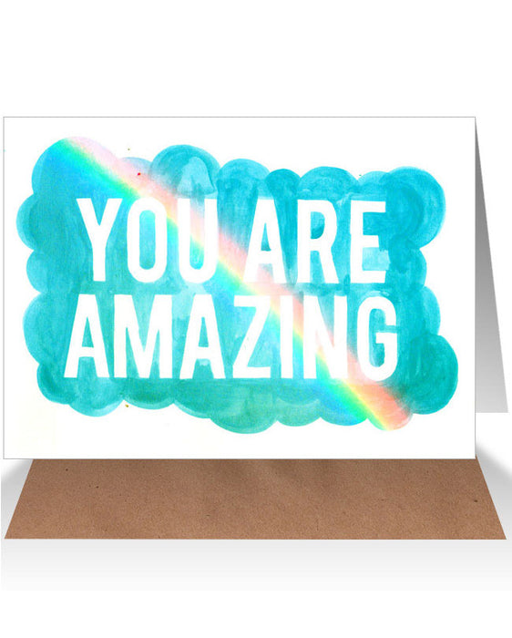 AHD You are amazing card