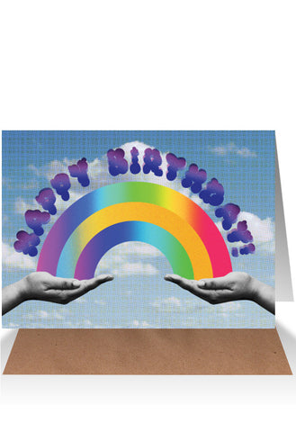 AHD Birthday Rainbow card